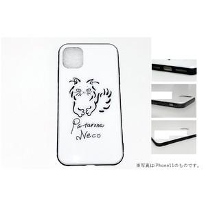 iPhoneケース・A(ぷーたろーなねこ)